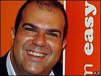 Easygroup founder Stelios Haji-Ioannou