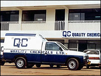 Quality Chemicals HQ in Kampala