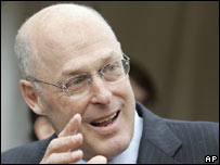 US Treasury Secretary nominee Henry Paulson