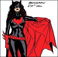 New Batwoman character design