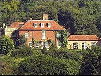 A big house in the country