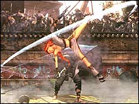 Screenshot from Heavenly Sword