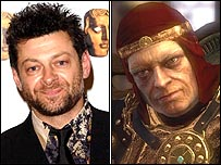Andy Serkis as the king in Heavenly Sword