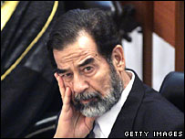 Saddam Hussein. File photo