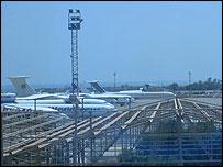 Libya's Maitega airport