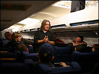 Director Paul Greengrass making United 93