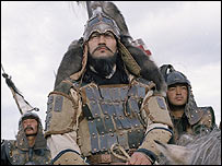 Personaje Gengis Khan en serie TV de la BBC