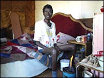 African HIV patient