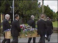 Gladys Hammond's funeral