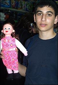"La muñeca ""Shimale"". Foto:Jana Beris"