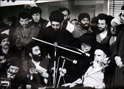 Ayatollah Khomeini on the first anniversary of the revolution