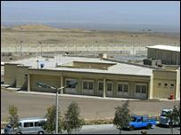 The Iranian nuclear plant at Natanz