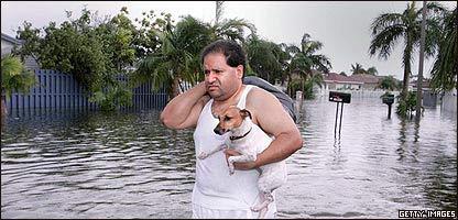 Damnificado del huracán Katrina