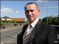 Detective Inspector Gareth Nicholl