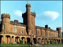 Kinloch Castle was built in 1897