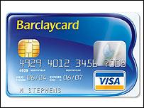 New style Barclaycard