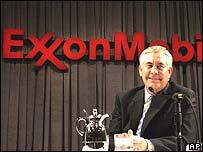 Exxon's new boss Rex Tillerson