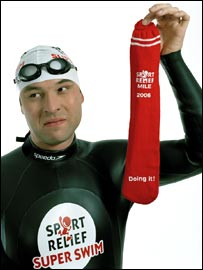 David Walliams is attempting to swim the English Channel for Sport Relief