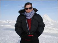 BBC correspondent Hilary Andersson