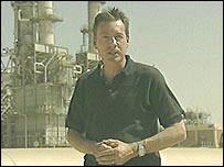BBC reporter Frank Gardner