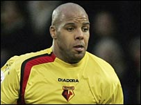 Watford striker Marlon King