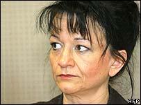 Sabine Hilschenz at her trial