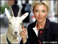 Goat with Tamara Beckwith