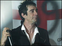 Sham 69 singer Jimmy Pursey