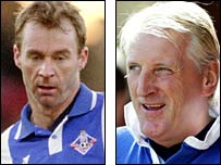 John Sheridan and Ronnie Moore