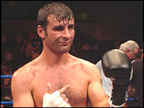 Joe Calzaghe broke his hand in defeating Evans Ashira