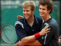 James Auckland and Andy Murray