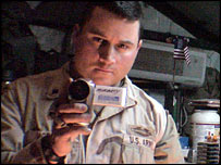 Spc Michael Moriarty (Photo courtesy of The War Tapes)