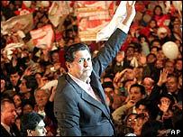 Garcia closes campaign in Lima