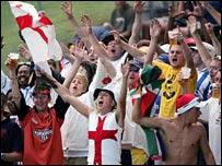 England's barmy army