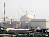 Planta nuclear iraní de Bushehr