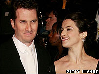 Darren Aronofsky and Rachel Weisz