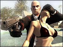 Screenshot from Hitman: Blood Money