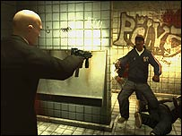 Screenshot from Hitman: Blood Money