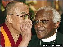 Dalai Lama and Archbishop Desmond Tutu