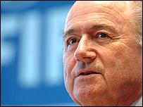 president Sepp Blatter