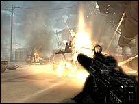 Screenshot from Black