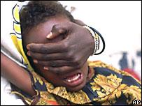 Una niña sufre mutilación