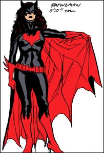 Batwoman as seen in DC's 52