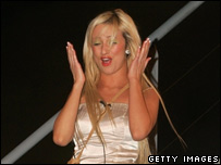 Celebrity Big Brother winner Chantelle Houghton