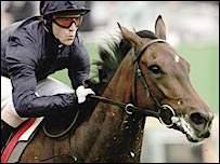 Kieren Fallon and Alexandrova were the impressive winners of the Oaks