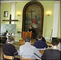 Seminary class in Lublin