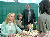 Princess Michael at the Hay festival, 2 June 2006
