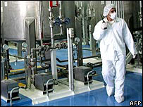 Nuclear technician at Isfahan