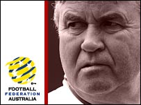 Australia manager Guus Hiddink
