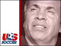 USA coach Bruce Arena